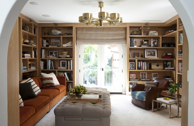 Nate berkus interiors how to style bookshelves nate for Interior design los angeles